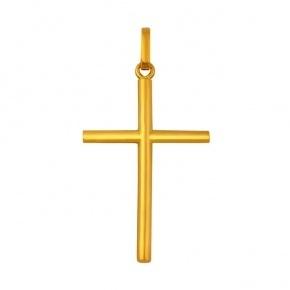 Pendentif croix jonc