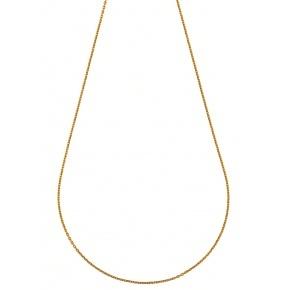 Chaine gourmette - 9 carats - 45cm 1.95gr