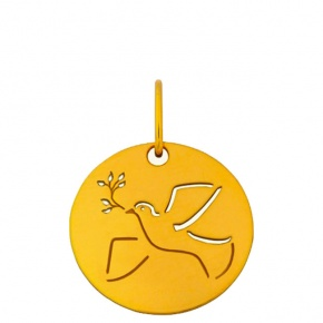 Médaille esquisse Colombe
