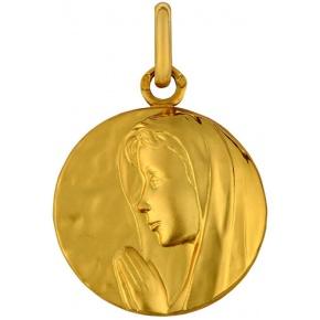 Médaille vierge en priere
