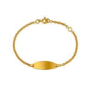 Bracelet identité tonneau