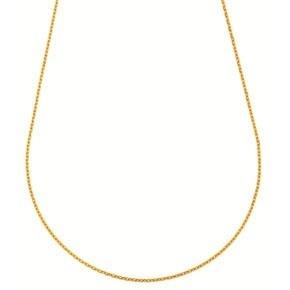 Chaine forçat fine - 9 carats - 40cm 1gr