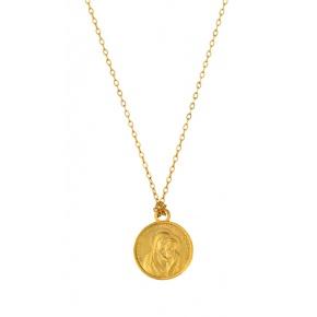 Médaille Notre Dame du bon conseil sur chaine