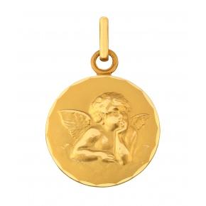 Médaille Ange dans les nuées