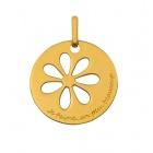 Médaille marguerite ajouree