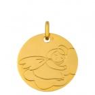 Médaille Ange dormant au nuage