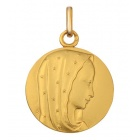 Médaille Vierge étoilee