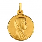 Médaille Vierge liseret