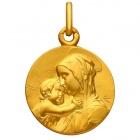 Médaille Vierge à l'enfant
