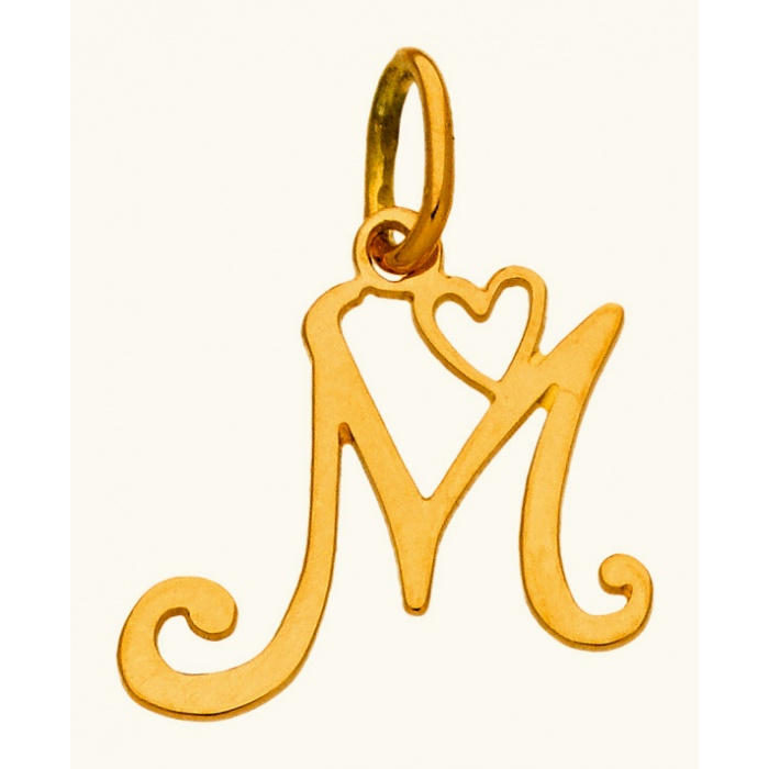 Pendentif initiale M
