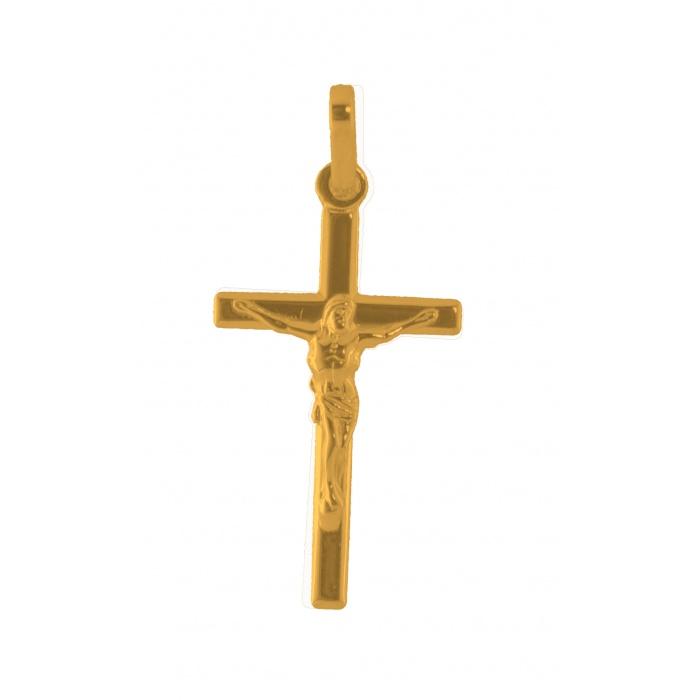 Pendentif croix Christ