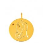 Médaille esquisse Vierge