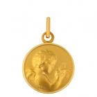 Médaille Ange et oiseau