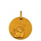 Médaille Ange étoile