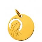 Médaille Vierge ajourée