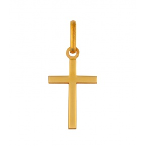 Pendentif croix baton