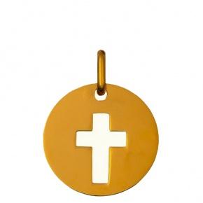 Jeton croix ajouré