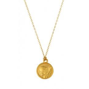 Médaille Ange sur chaine