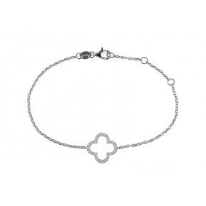 Bracelet croix romane argent