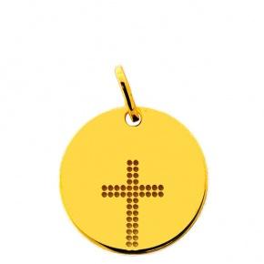 Médaille ajourée croix