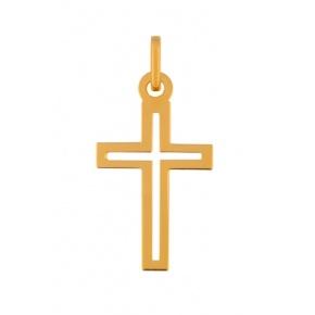 Pendentif Croix plate ajourée