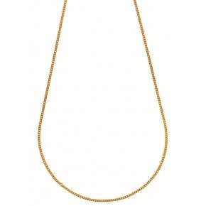 Chaine gourmette - 18 carats - 45cm 2.2gr