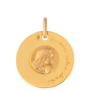 Médaille Je vous salue Marie
